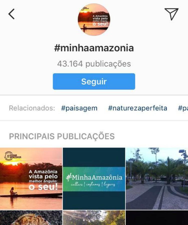 Hashtags podem ser seguidas no Instagram